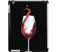 A good glass of wine iPad Case/Skin