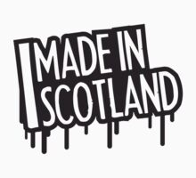 Made In Scotland Stamp by Style-O-Mat
