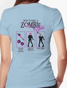 Zombie CUTE killer! Womens Fitted T-Shirt