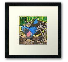 JAW-Rantula Framed Print