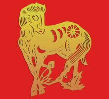 Chinese Zodiac Horse Papercut by ChineseZodiac