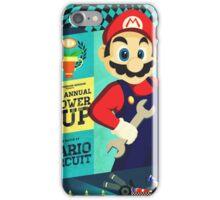 Mario Kart Race  iPhone Case/Skin