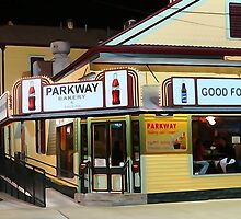 Night at the Parkway Bakery by MJ Mastrogiovanni