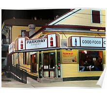 Night at the Parkway Bakery Poster