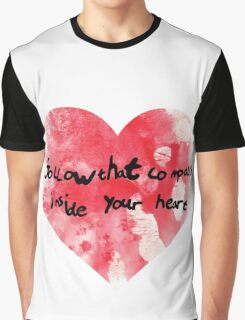 compass of your heart Graphic T-Shirt
