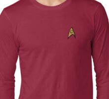 Star Trek Engineering Insignia Shirt Long Sleeve T-Shirt