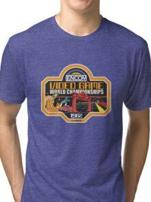 ENCOM Video Game Championships Tri-blend T-Shirt