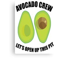 Avocado Crew Canvas Print