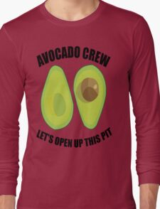 Avocado Crew Long Sleeve T-Shirt
