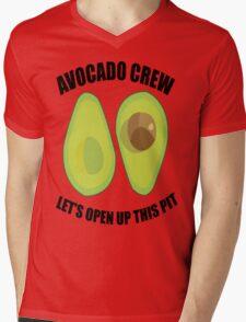 Avocado Crew Mens V-Neck T-Shirt