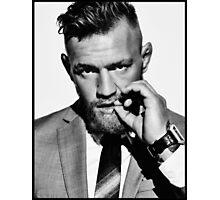 Conor McGregor b/w Photographic Print