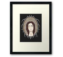 Mountain girl Framed Print