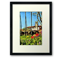 San Juan Capistrano Framed Print