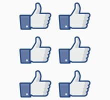 Facebook Like Thumbs Up ×6 by csyz ★ $1.49 stickers