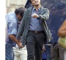Leonardo DiCaprio Walking by juspn