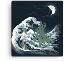 The Wave Off  R'lyeh  Canvas Print