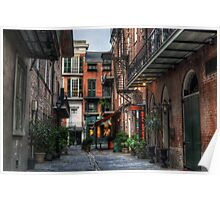 Jackson Square Alley Poster