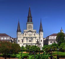 The Saint Louis Cathedral by Greg and Chrystal Mimbs