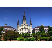 The Saint Louis Cathedral Photographic Print