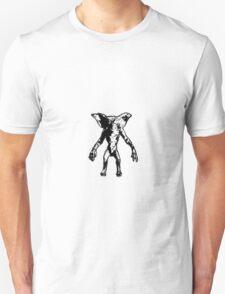 Gremlin - Black and White Unisex T-Shirt