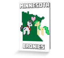 Retro MN Bronies  Greeting Card