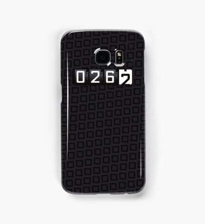 Almost There [blk] Samsung Galaxy Case/Skin