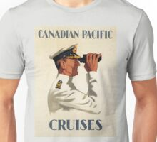 Vintage poster - Canadian Pacific Cruises Unisex T-Shirt