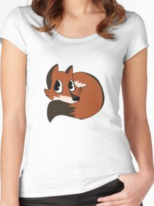 A Fox Women's Fitted Scoop T-Shirt