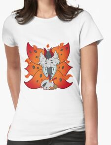 Arise from the Flames Womens Fitted T-Shirt