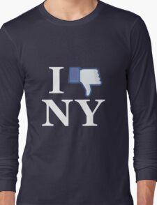 I Unlike NY - I Love NY - New York Long Sleeve T-Shirt