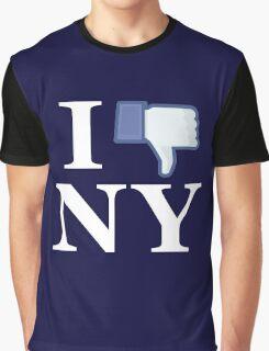 I Unlike NY - I Love NY - New York Graphic T-Shirt