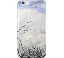 Mt. Feathertop  in  August  snow iPhone Case/Skin
