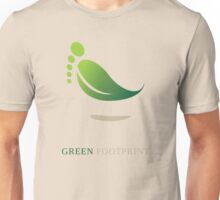 Green FootPrint Unisex T-Shirt