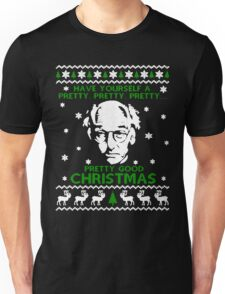 LARRY DAVID PRETTY GOOD CHRISTMAS UGLY SWEATER Unisex T-Shirt