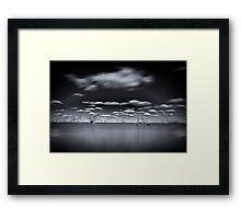 Surreal - Lake Pinaroo, NSW Framed Print