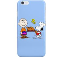 Charlie and Snoopy Thanksgiving iPhone Case/Skin