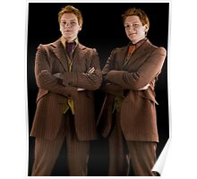 The Weasley Twins Poster