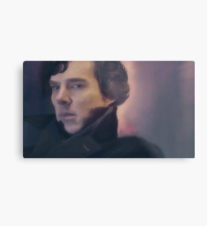 Sherlock Holmes. Metal Print