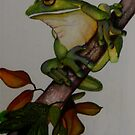 Rainforest View  (sold 4-08-2013) by Sandra  Sengstock-Miller