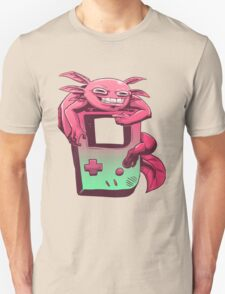 Axolotl Game Boy T-Shirt
