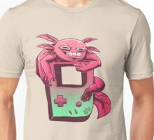 Axolotl Game Boy Unisex T-Shirt