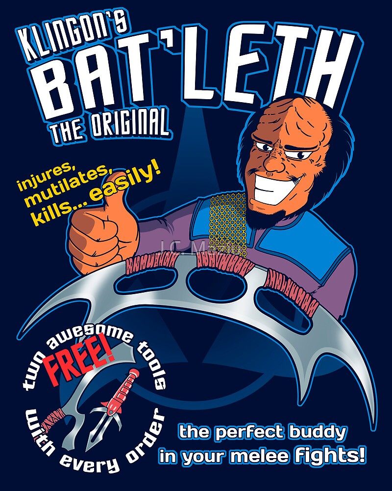 Bat'leth (the original) by J.C. Maziu