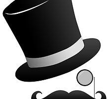 BlackTop Images Fancy man logo by blacktopspirit