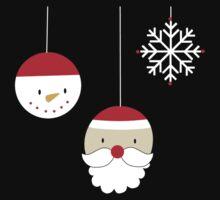 Christmas Baubles Kids Tee