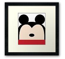 Hi-Ya Pal -Mickey Framed Print