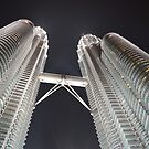 Petronas Twin Towers by KarynL