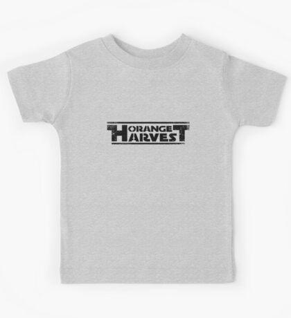 ORANGE HARVEST (DISTRESSED) Kids Tee