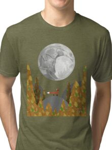 Tail of the Moon Tri-blend T-Shirt
