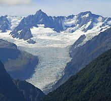 The Franz Joseph Glacier by DRWilliams