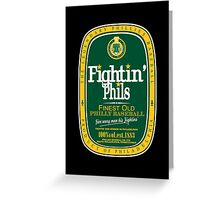 Fightin' Phils Dew Greeting Card
